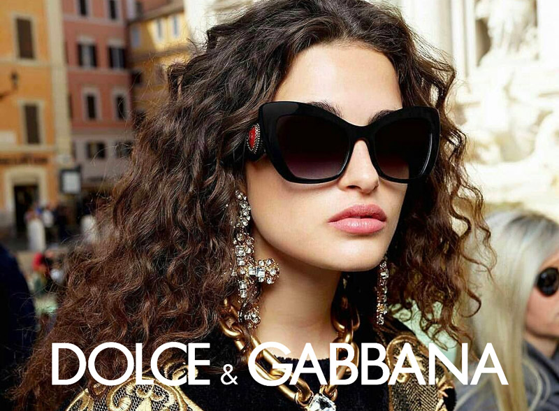 dolce gabbana eyewear model